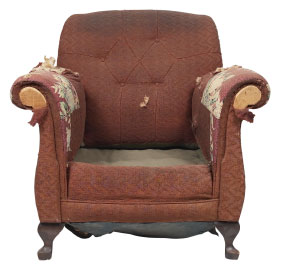 Furniture Medic of Kitchener & Cambridge Upholstery and Leather Furniture Repairs and Restoration Before